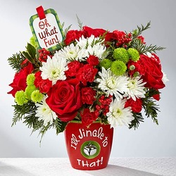I'll Jingle to that Bouquet