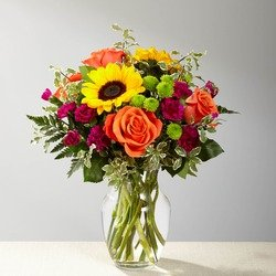 The FTD Color Craze Bouquet