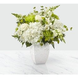 The FTD Peace and Hope Green Bouquet
