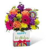 The Birthday Brights Bouquet
