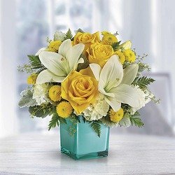Teleflora's Golden Laughter Bouquet