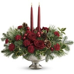 Teleflora's Shining Bright Centerpiece