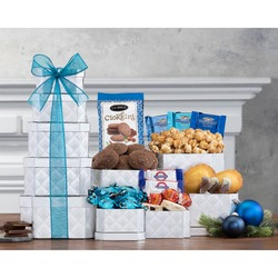 Chocolate, Popcorn And More Gift Tower