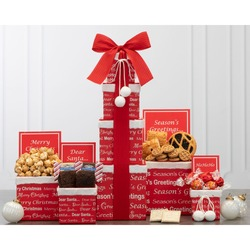 Merry Christmas Gift Tower
