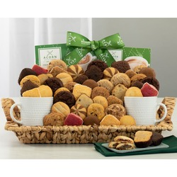 Deluxe Bakery, Coffee And Cocoa Gift Basket