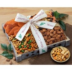 Solace and Sympathy Mixed Nut Gift Tray