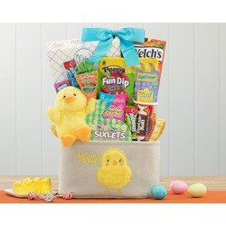 Easter Treats and Chocolate Bunny Tote