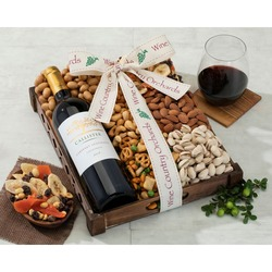 Cliffside Chardonnay And Mixed Nuts