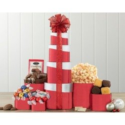 Chocolate, Truffle And Sweets Gift Tower