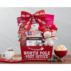 Reindeer And Sweets Gift Basket