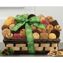 Brownie, Cookie And Cake Assortment Gift Basket