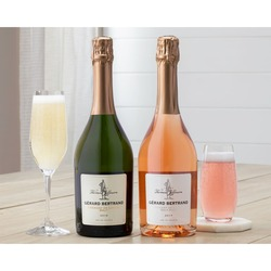 Thomas Jefferson Brut and Brut Rose Duet