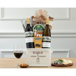 Cliffside Vineyards Red and White Gift Tote