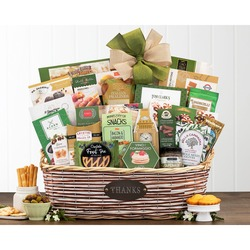 Many Thanks Gourmet Gift Basket