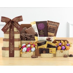 Godiva Chocolate Holiday Gift Tower