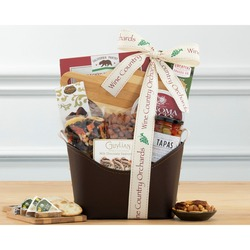Nut, Chocolate And Snack Gift Basket