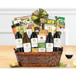Crossridge Peak California Collection Wine Basket