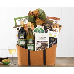 Barrel Hoops California Assortment Wine Basket