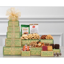 Nut, Brownie and More Gift Tower