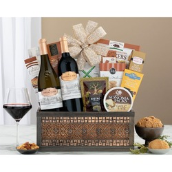 Chateau St. Jean California Duet Wine Basket
