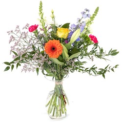 Colorfull field bouquet (Vase not included)