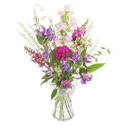 Field Bouquet Pink Purple (Vase not Included)