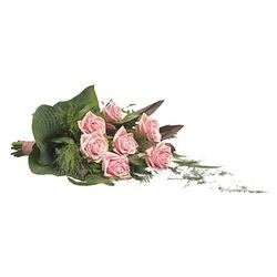 Pink Rose Funeral Bouquet
