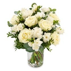 White Bouquet (Vase not Included)