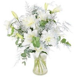 Bouquet White Fluff (Vase not Included)