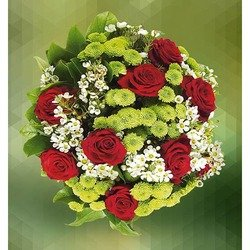 Bouquet of Santini and Roses