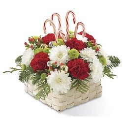 The Colors of Christmas Basket