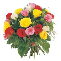 Bouquet of Roses in various colors (Vase Not Included)
