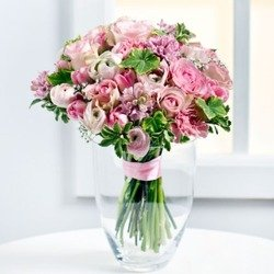 Beautiful Bouquet in Pastel Colours (Vase Not Included)