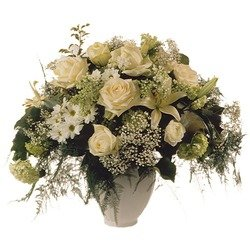 Bouquet: with Deepest Sympathy (Vase Not Included)