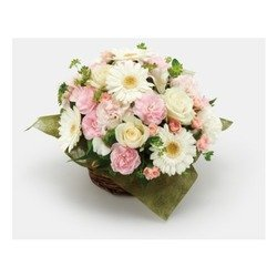 """""""Mother's Day"""" White & Pink Arrangement"""