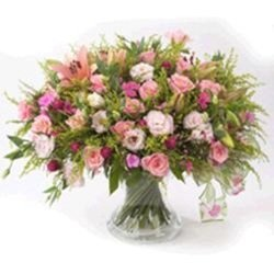 Bouquets in Pinks (Vase Not Included)