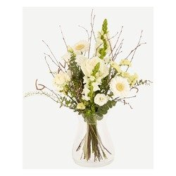 White airy bouquet (Vase not included)
