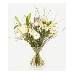 Sympathy bouquet (Vase not included)