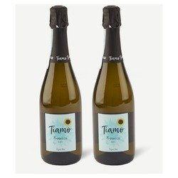 Two bottles of Tiamo Prosecco
