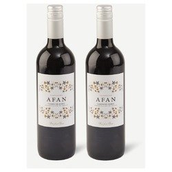 Two bottles of Afan, Garnacha