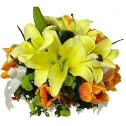 Bouquet of yellow flowers (Vase Not Included)