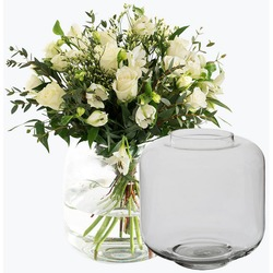 Classic White with A Vase
