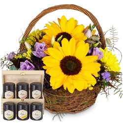 Power of Summer with honey gift set