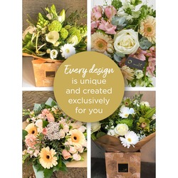 Florist Choice Sympathy Hand-Tied