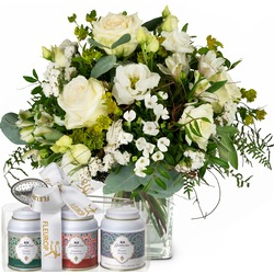 Natural Magic of Blossoms with Gottlieber tea gift set