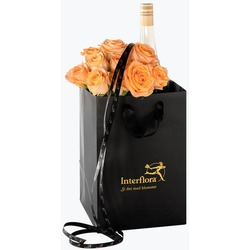 10 Golden roses with cider