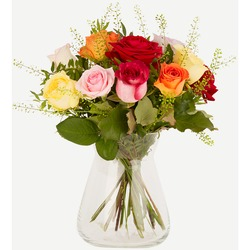 Mixed roses (Vase not Included)