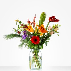 Winter Fun Bouquet  (Vase not included)