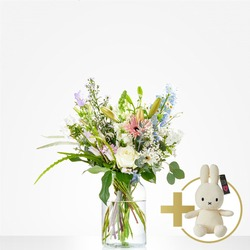 Combi Bouquet: Loving; including white Niffy
