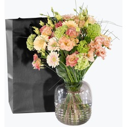 Floral Happiness with Flora vase